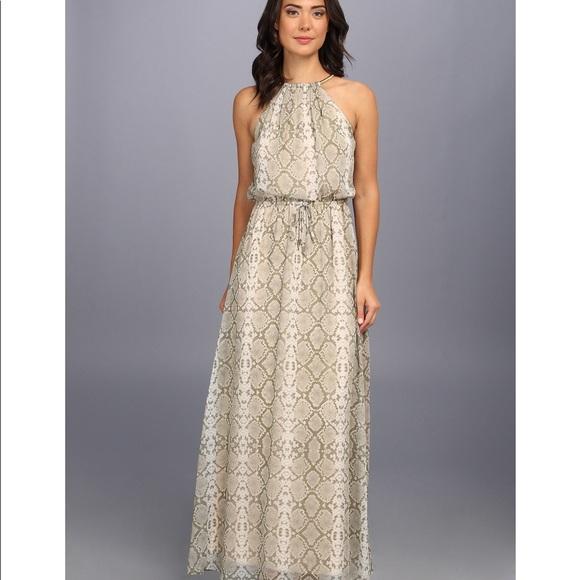 602e27c68 Vince Camuto Snakeskin Maxi Dress. M_5a5c46435521be8e16da9414